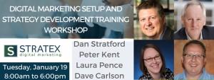 Stratex Digital Marketing Workshop Speakers