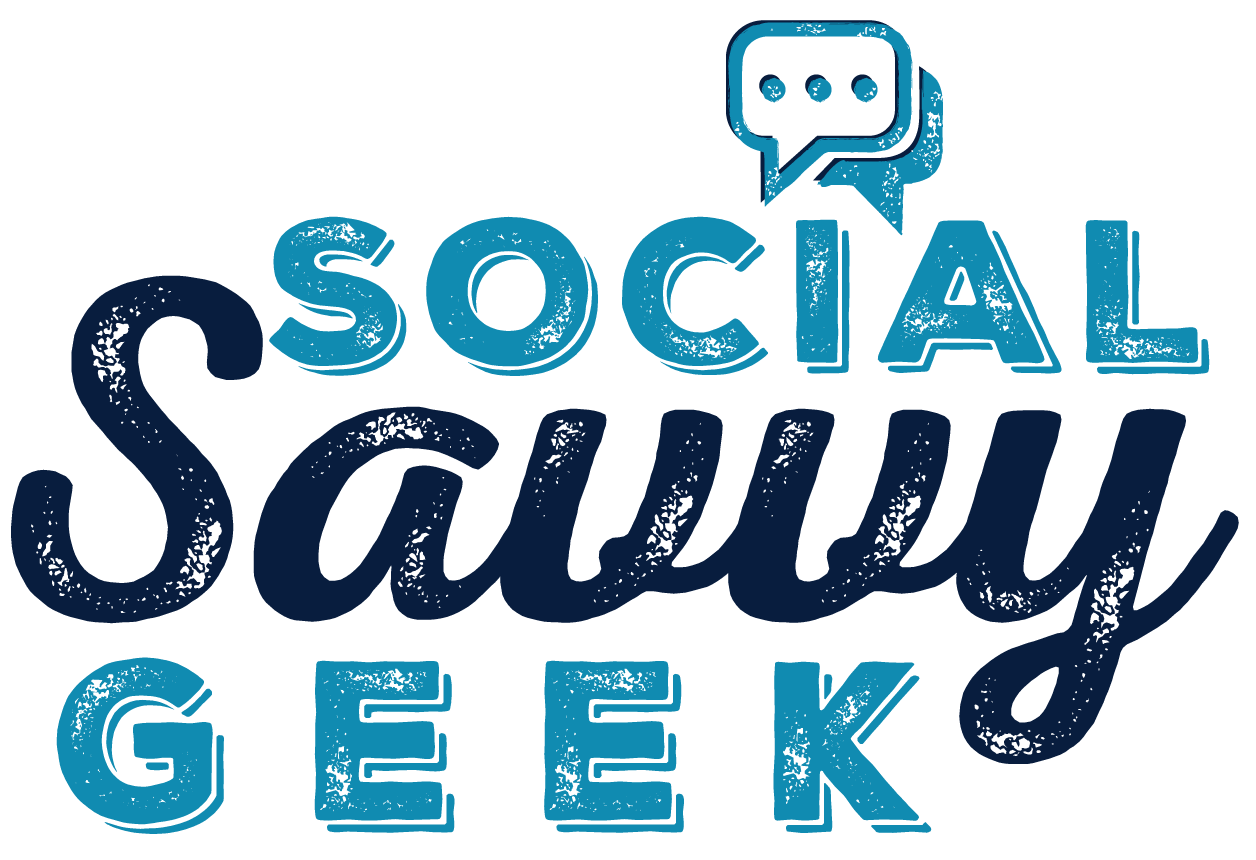 Social Savvy Geek Conversation Bubble